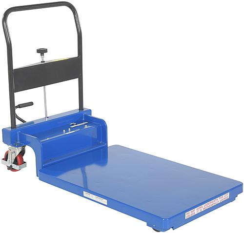 Vestil CART-900-LP-AS Low Profile Scissor Lift Cart