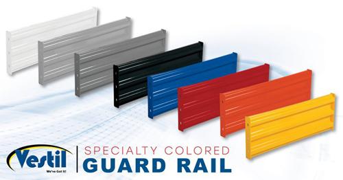 Color Options for GR-F3R-BO Guard Rails