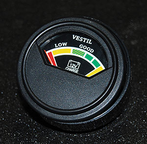 Vestil BCI Battery Charge Indicator Gauge
