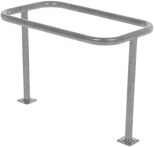 BR-ST-GAL Galvanized Bicycle Rack