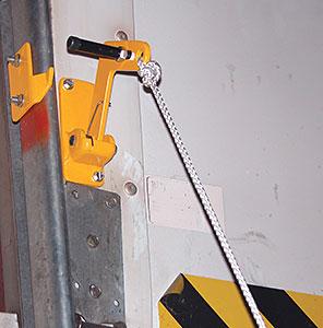 Vestil DR-LOCK Automatic Overhead Door Lock