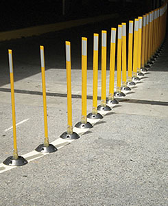 Vestil VGLT- Surface Mount Flexible Stakes