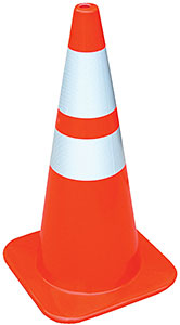 Vestil TC-28-HD-2R Traffic Cones