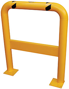 Vestil HDPRG-42 Steel Pallet Rack Guard