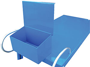 Vestil EASY-A-WT Optional Writing/Storage Box