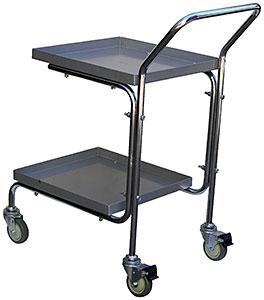 Vestil Double Tray Cart