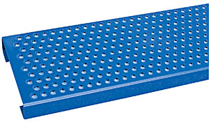 Vestil LAD-14-10-P Perforated Step