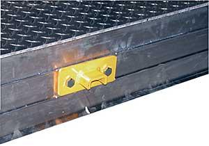 Vestil R-CAD-KIT Pair of Bolt-On Brackets & Hardware