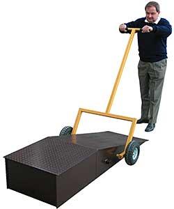 Vestil R-CAD-18 Portable Wheel Riser Caddy
