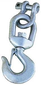Vestil HOOK-S-4 Hook With Shackle