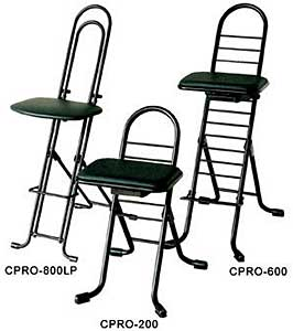 Vestil CPRO-800LP Ergonomic Worker Seats