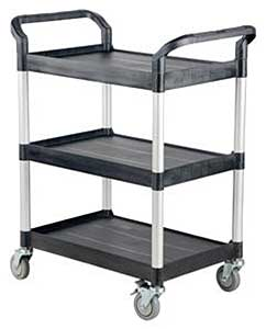 Vestil CSC-S 3 Shelf Service Cart