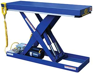 Vestil EHLT-N-1648-2-32 Narrow Scissor Lift Table
