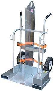 Vestil Galvanized Welding Cylinder Cart