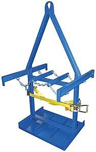 Vestil CYL-P-6-LUG Forklift Cylinder Caddy