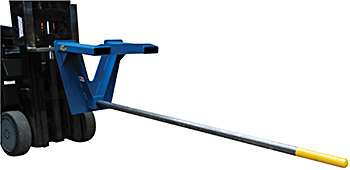 Vestil CRP-108 Inverted Fork Mounted Carpet Pole / Pipe Carrier