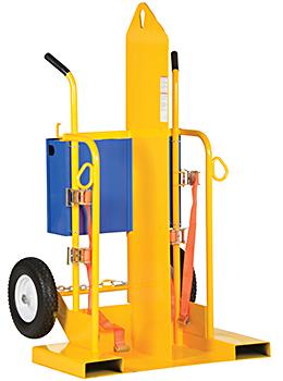 Vestil CYL-2-FP-FF Welding Cylinder Cart