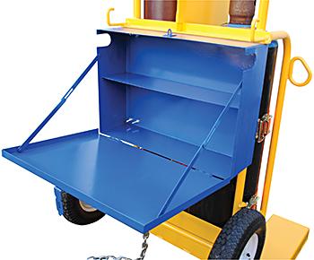 Vestil CYL-2-FP-FF Tool Box
