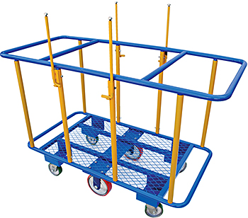 Vestil PANEL-H Horizontal Panel Cart