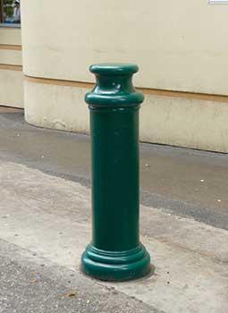 BPC-DP-FG Decorative Bollard Covers - Pawn Type