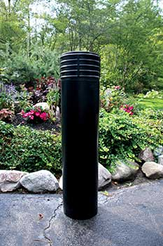 Vestil BPC-DC-B Decorative Bollard Cover - Cinco