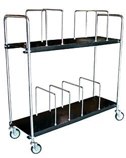 Vestil CTC-1856-B Portable Carton Cart