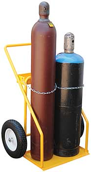 Vestil CYHT-2 Cylinder Hand Truck - Two Cylinder Capacity
