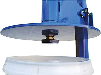 Plastic Pail Lid Press