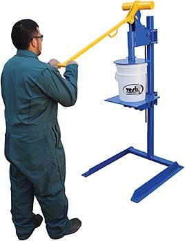 Vestil PLC-P-FM Plastic Pail Lid Press