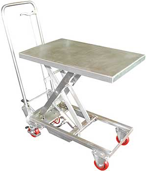 Stainless Steel Lift Carts & Tables