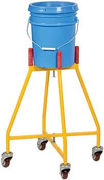 Vestil PDOL-26 Elevated Pail Dolly