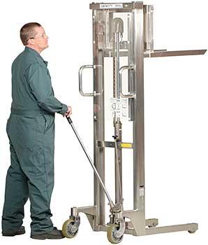Vestil HYD-10-DA-SS Stainless Steel Hefti-Lift