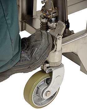 Sturdy Foot Operated Brake