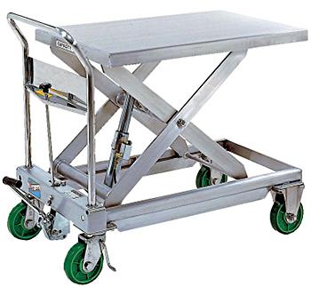 Vestil CART-1100-SS Stainless Steel Lift Cart
