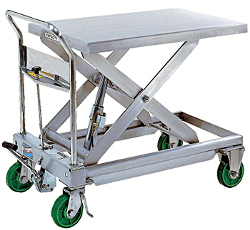 Vestil CART-1100-SS Stainless Steel Lift Cart